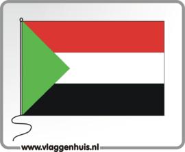 Tafelvlag Soedan 10x15 cm