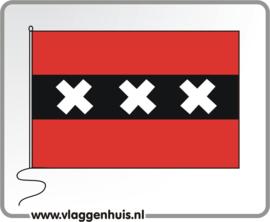 Tafelvlag Amsterdam 10x15 cm