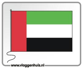 Tafelvlag Ver. Arab. Emiraten 10x15 cm