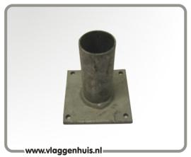 Muursteun rechtstandige houder 180º 30mm