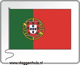 Tafelvlag Portugal 10x15 cm