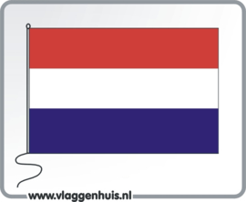 Nederland rood-wit-donkerblauw