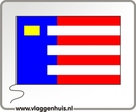 Vlag gemeente Baarle Nassau