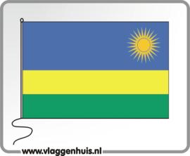 Tafelvlag Rwanda 10x15 cm