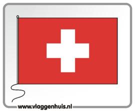Tafelvlag Zwitserland 10x15 cm