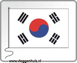 Tafelvlag Korea-Zuid 10x15 cm