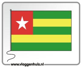 Tafelvlag Togo 10x15 cm