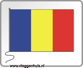 Tafelvlag Roemenië 10x15 cm