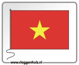 Tafelvlag Vietnam 10x15 cm