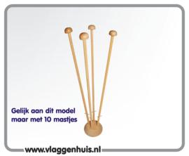 Tafelstandaard 10 mastje met voetje