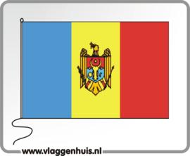 Tafelvlag Moldavië 10x15 cm