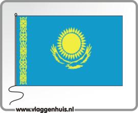 Tafelvlag Kazachstan 10x15 cm