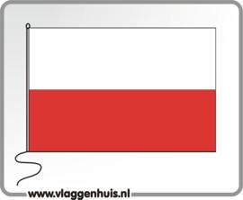 Tafelvlag Polen 10x15 cm