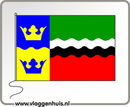 Vlag gemeente Graft-de Rijp