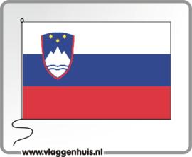 Tafelvlag Slovenië 10x15 cm