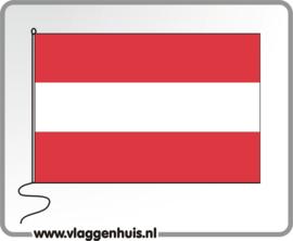 Tafelvlag Oostenrijk 10x15 cm