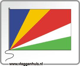 Tafelvlag Seychellen 10x15 cm