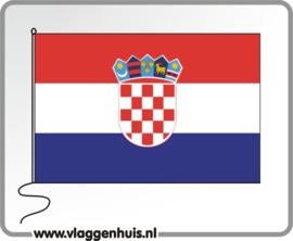 Tafelvlag Kroatië 10x15 cm