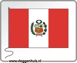 Tafelvlag Peru 10x15 cm