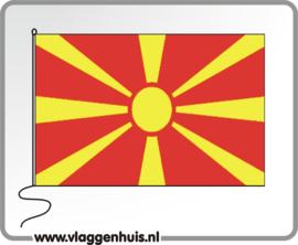 Tafelvlag Macedonie 10x15 cm