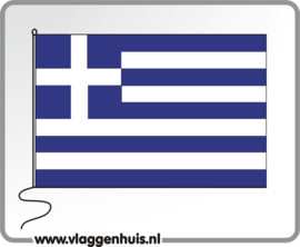 Tafelvlag Griekenland 10x15 cm