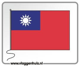 Tafelvlag Taiwan 10x15 cm