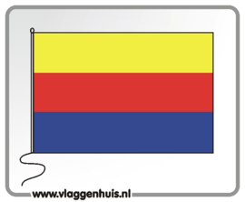 Tafelvlag Noord-Holland 10x15 cm