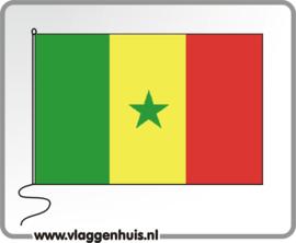 Tafelvlag Senegal 10x15 cm