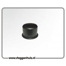 Zwarte afdekdop tbv. kantelanker M20.