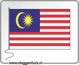 Tafelvlag Maleisië 10x15 cm