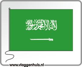 Tafelvlag Saoedi-Arabië 10x15 cm