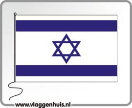 Tafelvlag Israël 10x15 cm