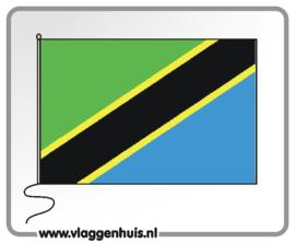 Tafelvlag Tanzania 10x15 cm