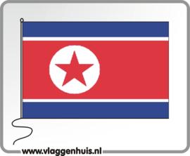Tafelvlag Korea-Noord 10x15 cm