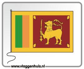 Tafelvlag Sri-Lanka 10x15 cm