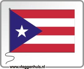 Tafelvlag Porto Rico 10x15 cm