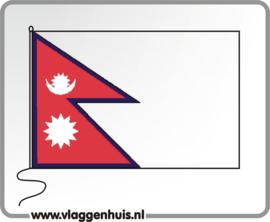 Tafelvlag Nepal 10x15 cm