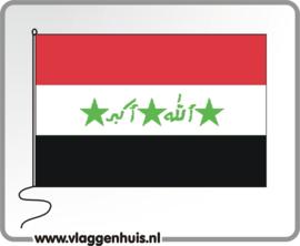 Tafelvlag Irak 10x15 cm