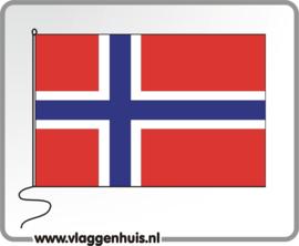 Tafelvlag Noorwegen 10x15 cm