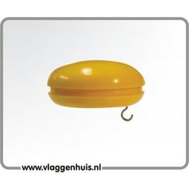 Knop geel 30 mm