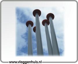 Vlaggenstok Aluminium <250cm