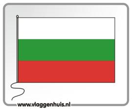 Tafelvlag Bulgarije 10x15 cm
