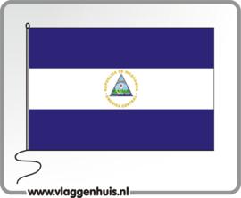 Tafelvlag Nicaragua 10x15 cm