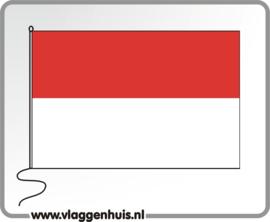 Tafelvlag Indonesië 10x15 cm