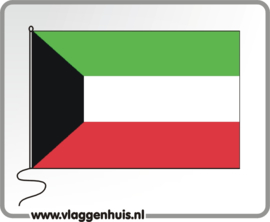 Tafelvlag Koeweit 10x15 cm