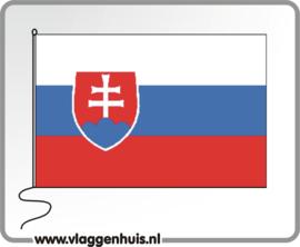 Tafelvlag Slowakije 10x15 cm