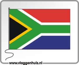 Tafelvlag Zuid-Afrika 10x15 cm