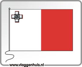 Tafelvlag Malta 10x15 cm