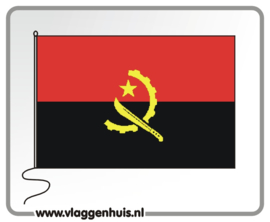 Tafelvlag Angola 10x15 cm