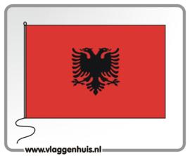 Tafelvlag Albanië 10x15 cm